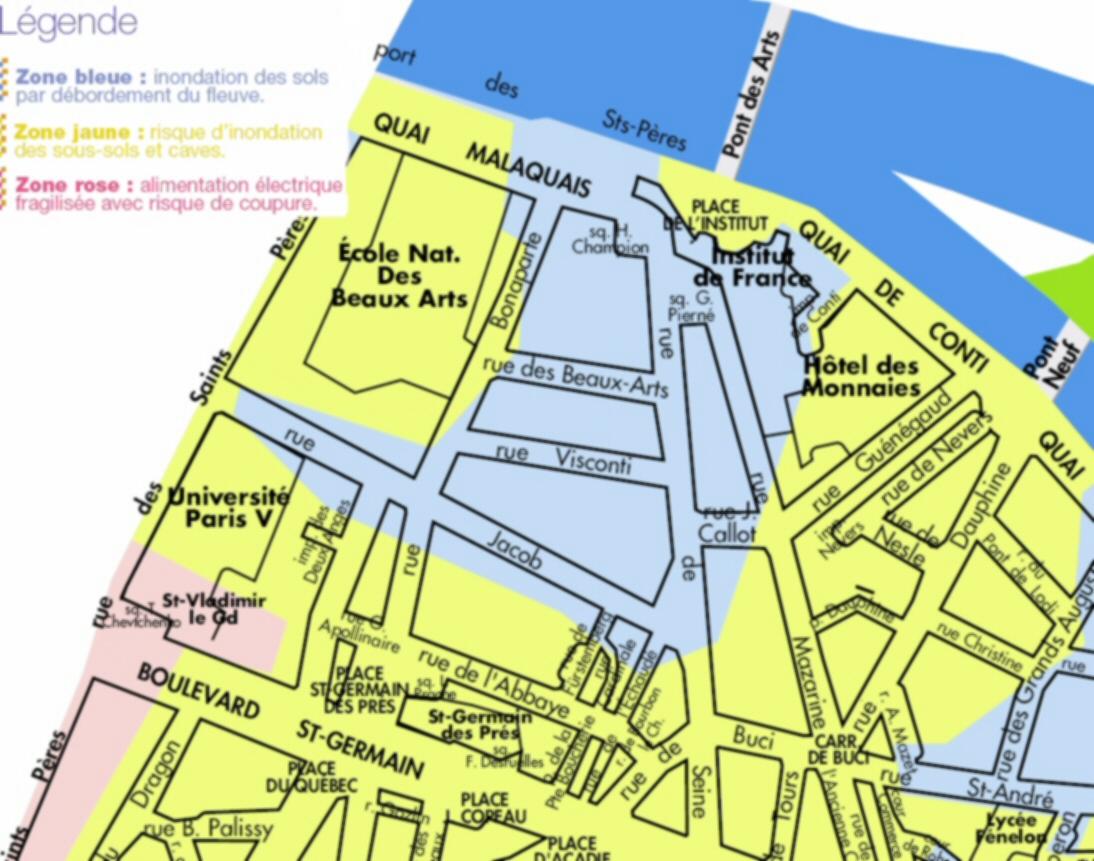 Description topographique - Piscine en zone inondable ...