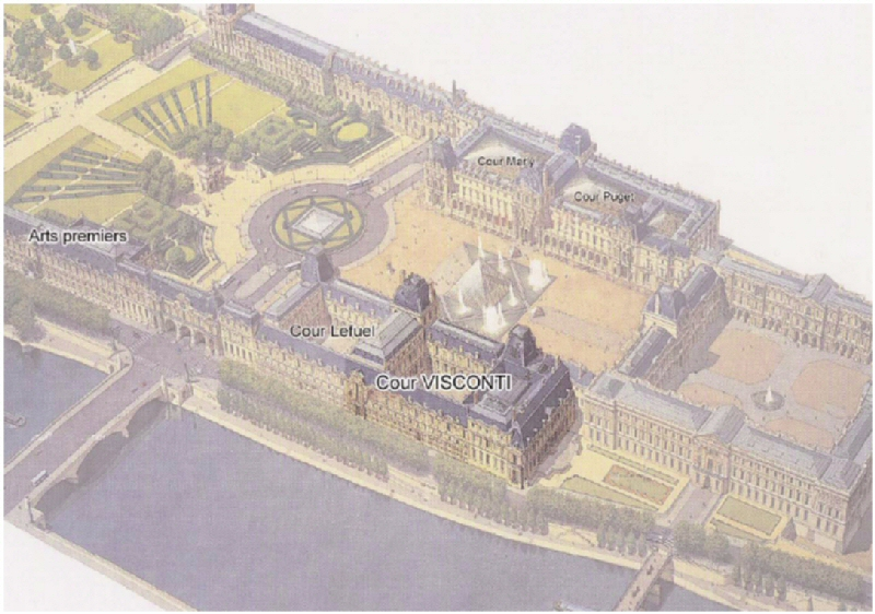 1000 Images About Louvre Outside And Floorplan On